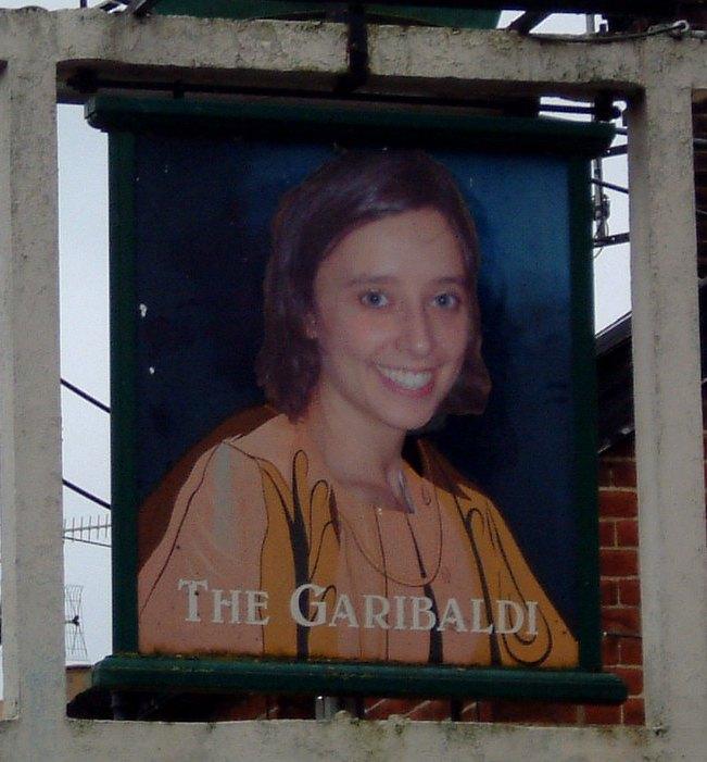 Garibaldi Pub Sign C2004